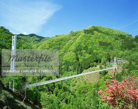 Ueno Village Skybridge, Gunma Prefecture, Japan