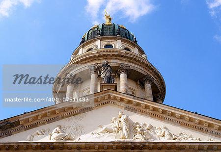 Konzerthaus hall, domme detail, Gendarmenmarkt square, Berlin