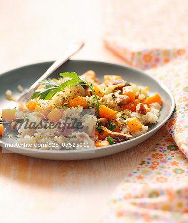 Quinoa and pumpkin salad
