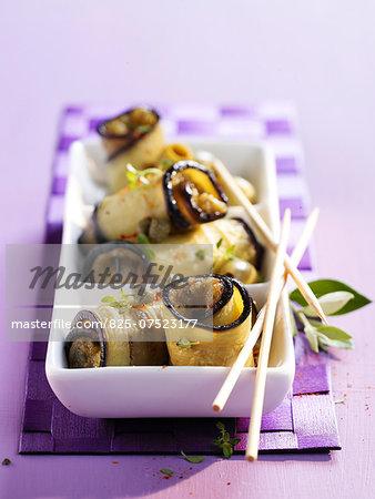 Eggplant rolls