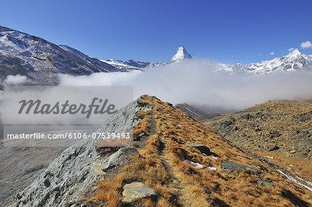Glacier Moraine with Path