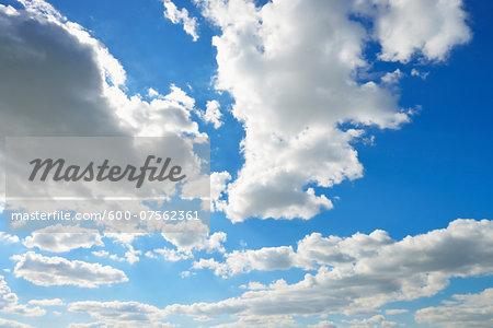 Cloudy Sky, Odenwald, Hesse, Germany