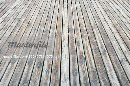 Wooden Planks Floor, Prerow, Darss, Fischland-Darss-Zingst, Baltic Sea, Western Pomerania, Germany