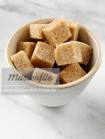 Brown sugar lumps