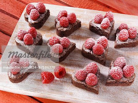 Valentines Day brownies