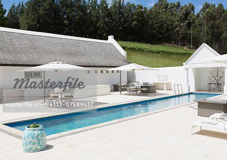 Luxury lap pool
