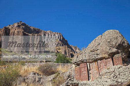 Geghard Monastery, UNESCO World Heritage Site, Geghard, Yerevan, Armenia, Central Asia, Asia