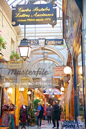 Passage Des Panoramas, Paris, France, Europe