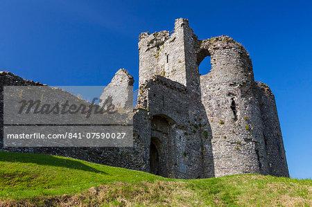 Llansteffan Castle, Carmarthenshire, Wales, United Kingdom, Europe