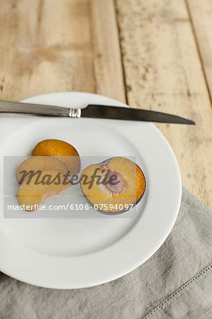 Plum on Plate