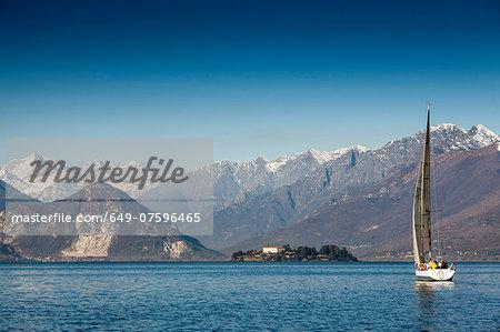 Lake Maggiore and Isola Madre, Novara, Italy