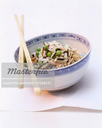 Rice with pork and peas (China)