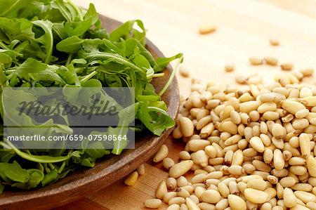 Pine Nuts and Arugula
