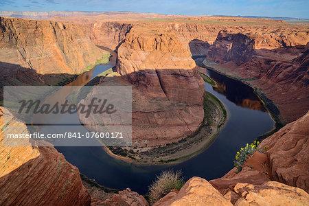 Horseshoe Bend, Colorado River, near Page, Arizona, United States of America, North America