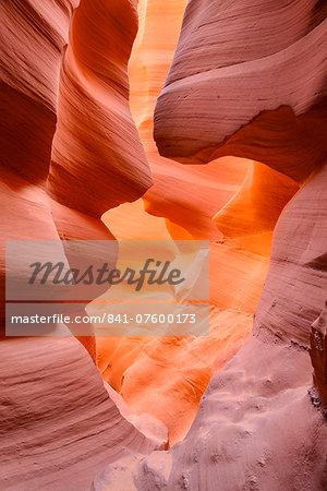 Lower Antelope Canyon, near Page, Arizona, United States of America, North America