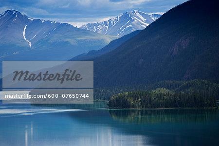 Muncho Lake Provincial Park, British Columbia, Canada