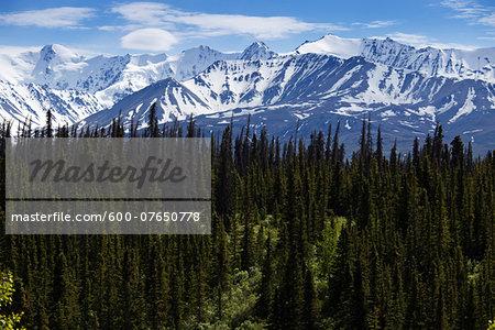 Alaska Highway, Rocky Mountains, northern British Columbia, Canada