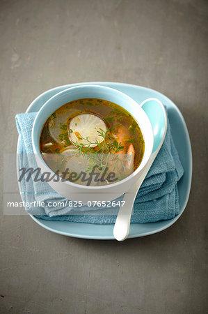 Thai-style turnip soup