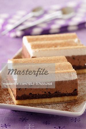 Vanille-chocolate desserts