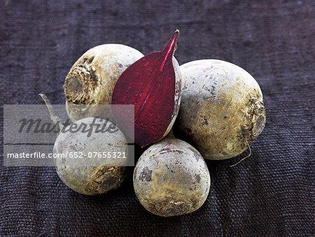 Organic beetroots