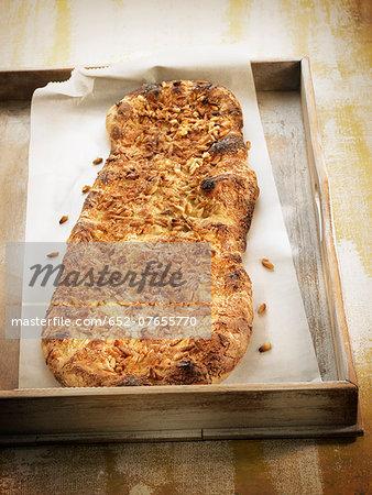 Pine nut bread