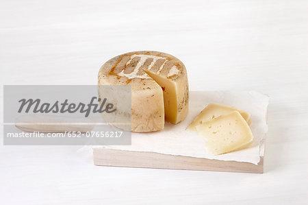 Mountain sheep's milk cheese