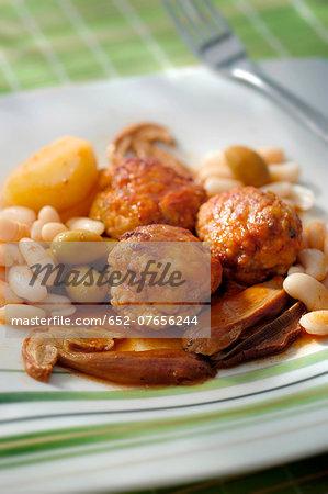 Boles de Picolat ,Catalan-style meatballs