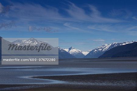 Cook Inlet near Portage, Alaska, USA.