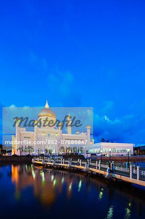 South East Asia, Kingdom of Brunei, Bandar Seri Begawan, Omar Ali Saifuddien Mosque