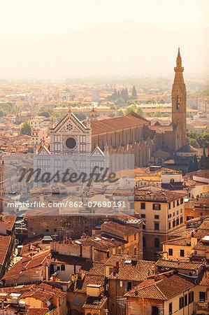 Italy, Tuscany, Firenze district. Florence, Firenze. Basilica di Santa Croce