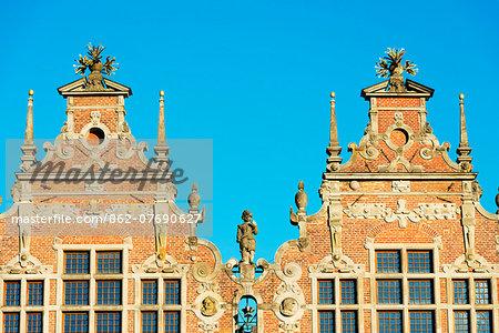 Europe, Poland, Gdansk, 17th century Great Arsenal by Antonius van Opbergen