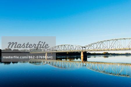 Europe, Poland, Gdansk and Pomerania, Torun, Vistula River