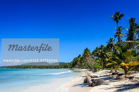 Playa Grande, Las Galeras, Semana peninsula, Dominican Republic, West Indies, Caribbean, Central America