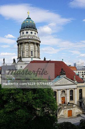 French Cathedral (Franzsischer Dom), Gendarmenmarkt, Berlin, Germany, Europe