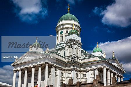 Helsinki Lutheran Cathedral in Senate Square, Helsinki, Finland