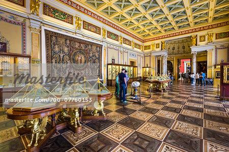 Majolica Room, The Hermitage Museum, St. Petersburg, Russia