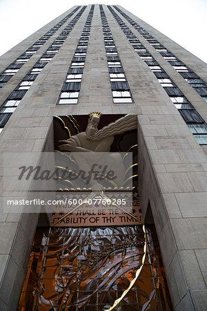 GE Building at Rockefeller Center, Midtown Manhattan, New York City, New York, USA