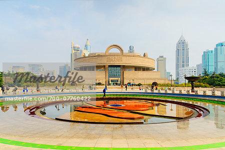 Shanghai Museum, People's Square, Huangpu District, Shanghai, China