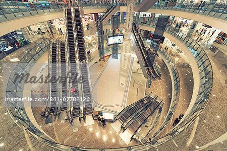 MixC High End Shopping Mall in the new business district of Binjiang (Qianjiang New Town), Hangzhou, Zhejiang, China, Asia