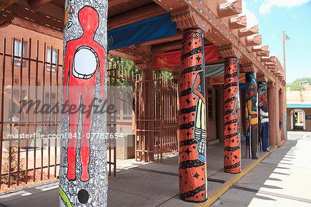 Museum of Contemporary Native Arts, Santa Fe, New Mexico, United States of America, North America
