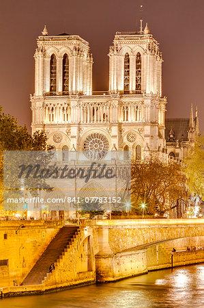 Notre Dame de Paris Cathedral, UNESCO World Heritage Site, Paris, France, Europe