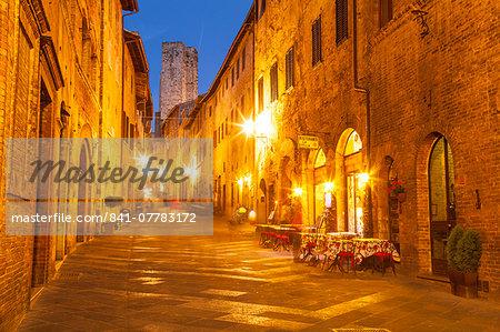 The historic centre of San Gimignano, UNESCO World Heritage Site, Tuscany, Italy, Europe