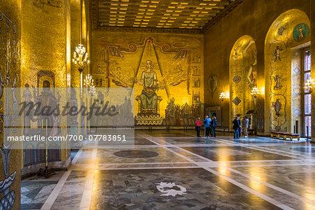 The Golden Hall, Stockholm City Hall, Stockholm, Sweden