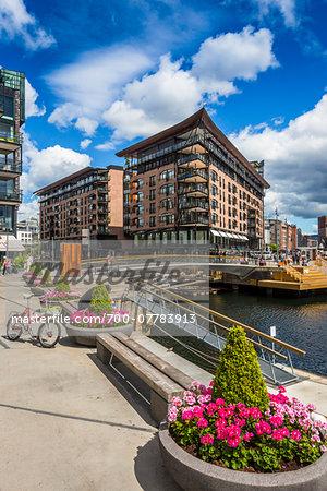 Waterfront, Tjuvholmen, Frogner, Oslo, Norway