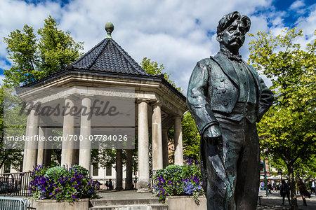 Statue of Composer and Conductor Johan Halvorsen, Oslo, Norway
