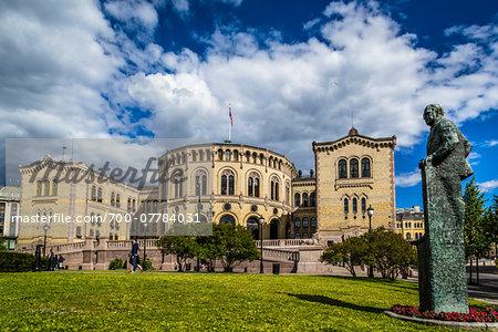 Storting Building, Oslo, Norway