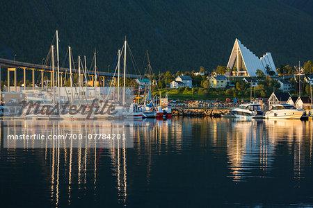 Midnight Sun, Tromso, Troms, Norway