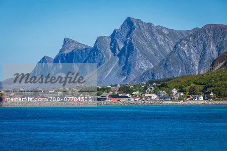 Fredvang, Flakstad, Moskenesoya, Lofoten Archipelago, Norway