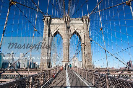 Brooklyn Bridge, New York City, New York, USA