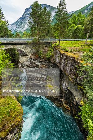 Gudbrandsjuvet Gorge, More og Romsdal, Norway